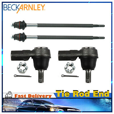 Steering Inner & Outer Tie Rod End 4 Piece Kit for 02-06 ACURA RSX (New Acura Tie Rod Rods)