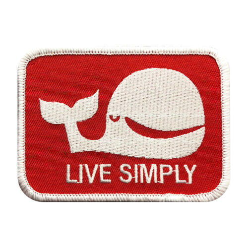 Live Simply Whale Logo The Expendables movie Stallone Patch