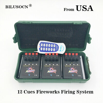 Wireless 12CH Fireworks Firing System+Remote with switch for party+gift - New Years Parties