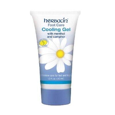 Herbacin Foot Care Cooling Gel 30ml 1 fl oz