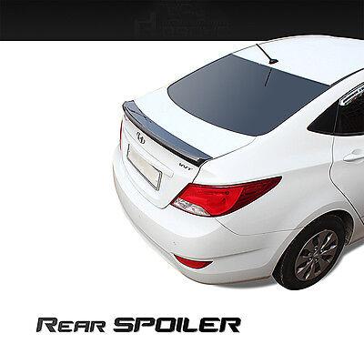 New Rear Trunk Wing Lip Spoiler Space for Kia All New Optima 2016 silver