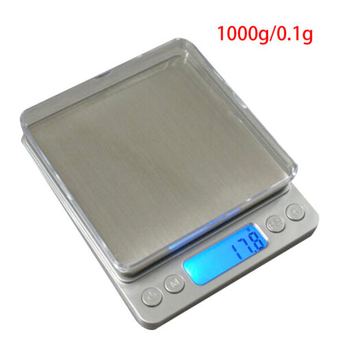Electronic Digital Kitchen Food Diet Balance Weight LCD Display Scales 1kg-3kg