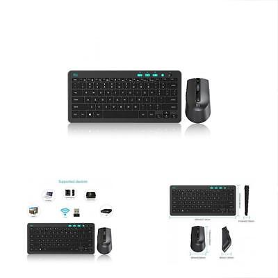 Rii RKM709 2.4Ghz Ultra-slim Wireless Keyboard And Mouse Com
