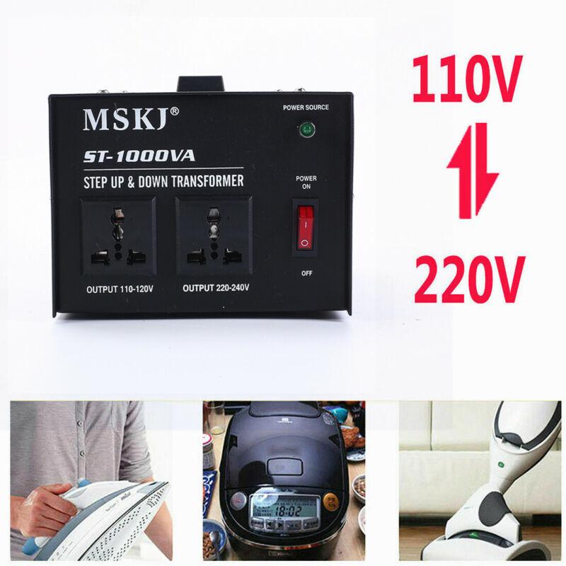1000W Voltage Transformer Power Converter Step Up/Down 1000