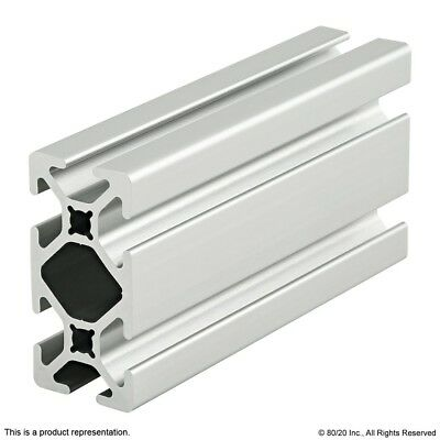 8020 Inc 10 Series 1 X 2 Smooth Slot Aluminum Extrusion 1020-s X 96.5 Long N