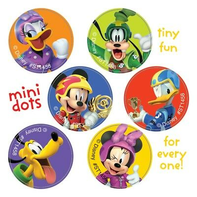 120 Mickey Mouse Roadster Mini Dot STICKERS Party Favors Birthday Supplies](Mini Mouse Party)