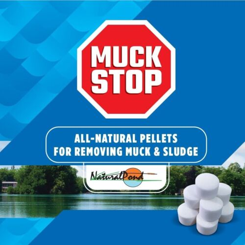 NaturalPond MuckStop All-Natural Pellets for Removing Muck and Sludge