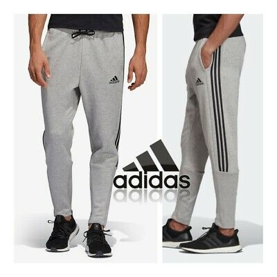 adidas Mens Tiro Joggers Grey Sweat Pants Jog Jogging Tracksuit Bottoms XL, XXL