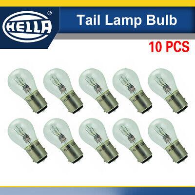 10PCS Hella 1157 Taillight Bulb 12V 279W BAY15D S8