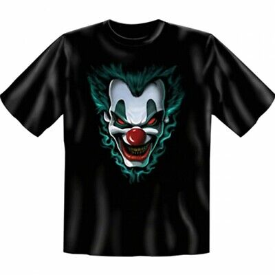 Halloween T-Shirt - Joker Freakshow - Horror Grusel Kostüm Halloween Geschenk