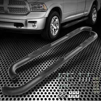 For 09-15 Dodge Ram 1500 2500 Crew Cab Nerf Bar Side Steps Running Boards Black