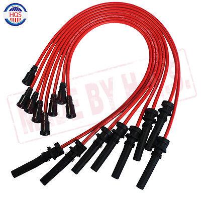 10. 5MM JDMSPEED Spark Plug Wires Set For 2003-2005 Dodge/Chrysler 5.7L Hemi Hemi Spark Plug Wires