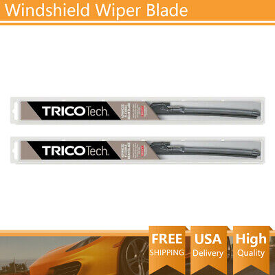 "Trico Wiper Blade 2PCS 20"" 24"" Left Right Tech window For 1989 Ford Thunderbird"