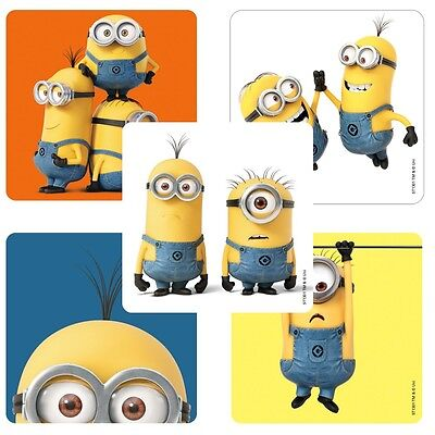 Minions Stickers x 5 - Birthday Party - Favours - Loot Ideas - Minion Party - Minion Birthday Party Ideas