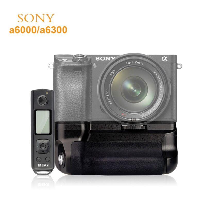 MK-A6300 Pro 2.4G Wireless Control Battery Grip For Sony E NEX ILCE 6300/6000