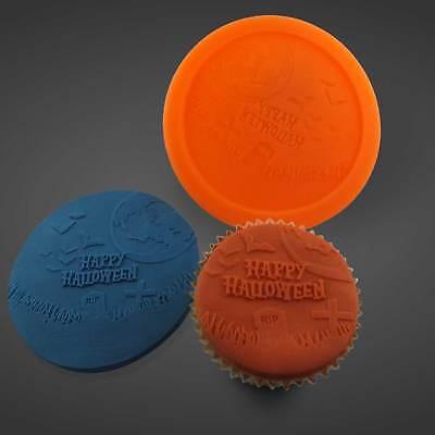 Silikonform Silikon Mould Muffin Cupcake Happy Halloween