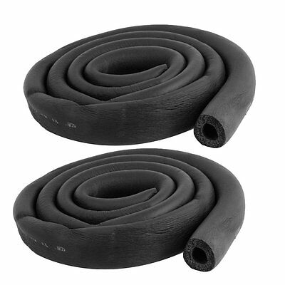 "2 Pcs Foam Hose 5/8"" x 3/8"" Air Conditioner Heat Insulation Pipe L6"