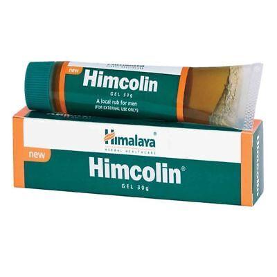 2 x Himalaya  Herbal Himcolin, Gel Improves  Sexual  Potency  30gm