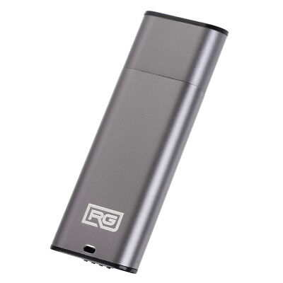 RecorderGear FD10 USB Drive Voice Recorder Small Spy Recording, Gray Option