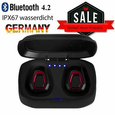 TWS Wireless Bluetooth Kopfhörer Headset Earbuds Mit Mikrofon Für Handy Musik