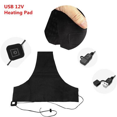 Car Motor Bike USB Electric Heating Pad 3Gear DIY Thermal Pads Outdoor Heated