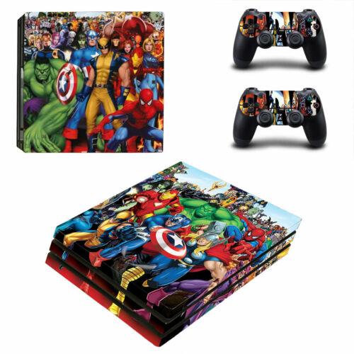 Choose Console - Marvel Comics - Vinyl Skin + 2 Controller Skins [0129]