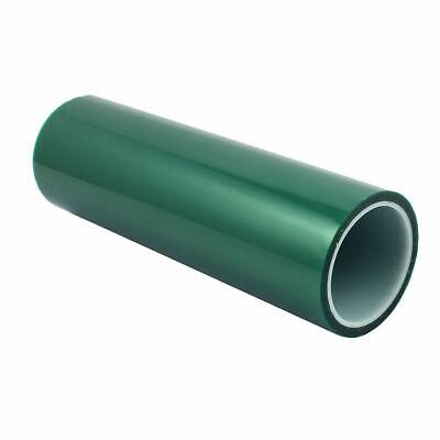 300mm X36 Yds. Powder Coating High Heat Green Poly. Tape