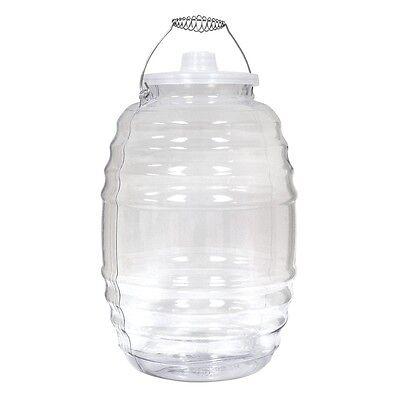 5 Gallon Heavy Duty Ice Bucket Water Barrel Bottle Jug Big Mouth Vitrolero Lid](Big Ice Bucket)
