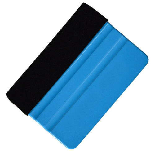 For 3M Blue Pro Felt Edge Squeegee Vinyl Car Van Bike Wrap Wrapping Tool Scraper