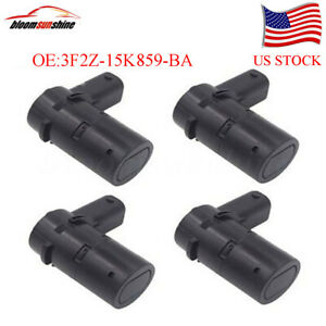 4pcs PDC Bumper Backup Parking Sensor For 2001-2011 Ford F250 3F2Z-15K859-BA