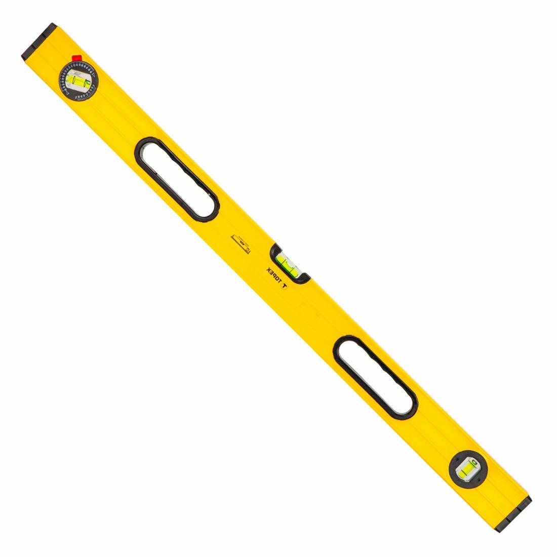 Aluminium Wasserwaage Präzisionswasserwaage Messwerkzeug Messen gelb 40-200 cm