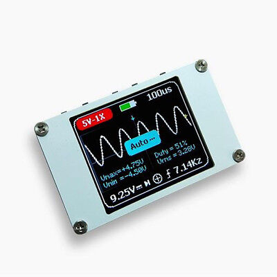 Dso Mini Portable Digital Oscilloscope 1m Bandwidth 5msps 1.4 Inch Lcd Display