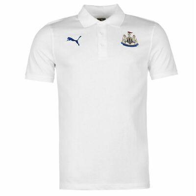 PUMA Newcastle United FC Men's Club Polo Shirt - White - New