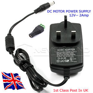 12v Dc Motor Power Supply Supply Up To 2 Amps At 12