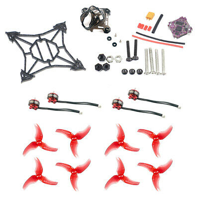 JMT DIY FPV Drone Kit 100mm Frame Kit Supra-F4-12A FC 1103 7000kv Motors Canopy