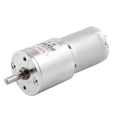 Dc24v 10rpm Output 2 Terminals Connector Speed Reduce Magnet Gearbox Motor