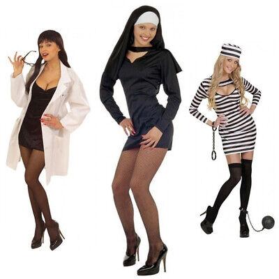 Kostüm Frauenarzt Sexy Nonne Sträfling Fasching Karneval Erotik