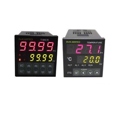 Inkbird Digital Timer Idt-e2rh Pid Temperature Controller 25a Ssr K Sensor
