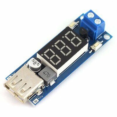 Dc-dc 4.5-40v To 5v 2a Step-down Led Voltmeter Usb Buck Voltage Converter C2f8