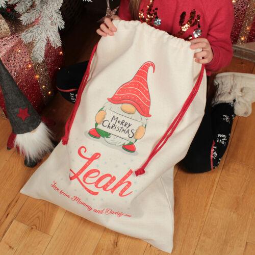 Personalised+Large+Christmas+Gonk+Gnome+Gift+Sack