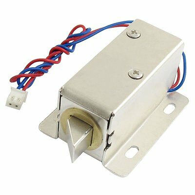 0837L DC 12V 8W Open Frame Type Solenoid for Electric Door Lock E8