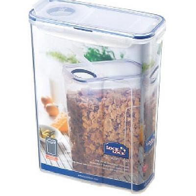 Lock & Lock Food Storage Cereal Container Flip Top Lid LARGE SIZE 4.3L hpl714f
