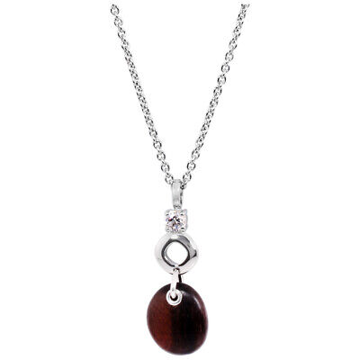 Fossil Trendy Two Tone 16 inches Necklace JF15769040