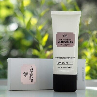 The Body Shop Skin defence Multi-Protection Lotion SPF50 60ml Brand New