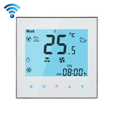 Touchscreen LCD WiFi Programmable Air Conditioning 2-Pipe Room Thermostat