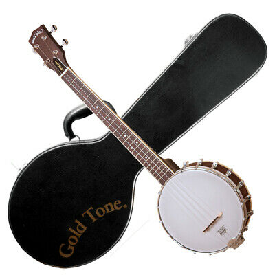 GOLD TONE LEFT-HANDED BUB Baritone Banjo Ukulele with HARD CASE - Maple - LEFTY comprar usado  Enviando para Brazil