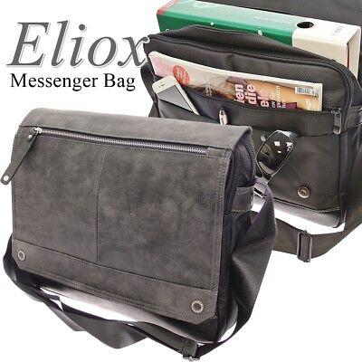 Umhängetasche Arbeitstasche Flugbegleiter Messenger Bag Schultertasche Herren XL