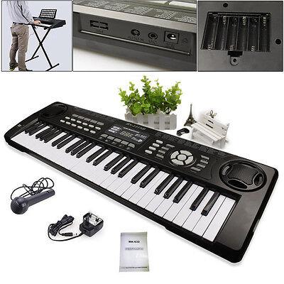 Electronic Keyboard 54 Keys Digital Electric Key Board Musical Organ LED Screen