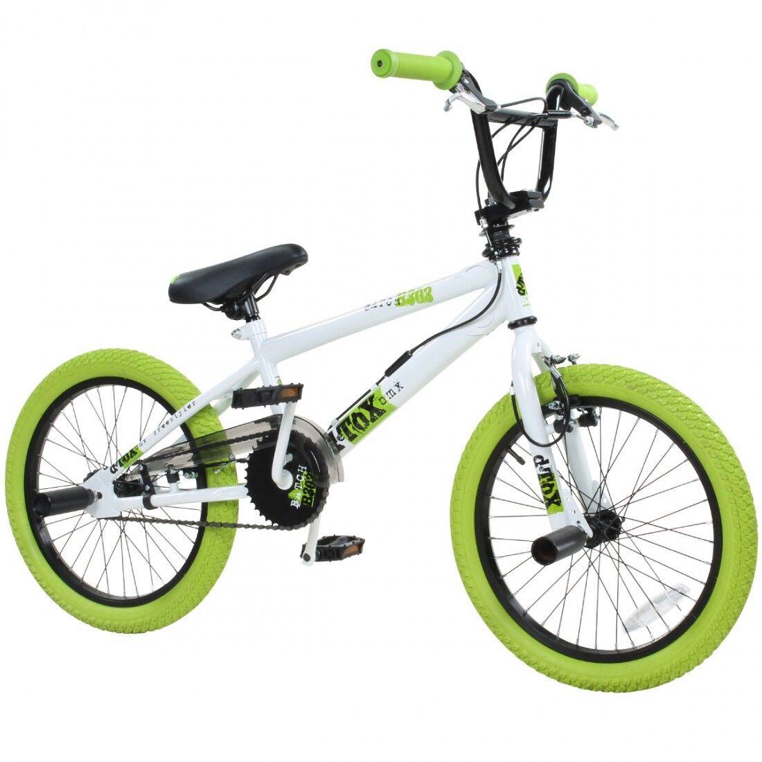 BMX 18 Zoll Fahrrad Freestyle Bike Kinderfahrrad Kinder Jugend Rad deTOX