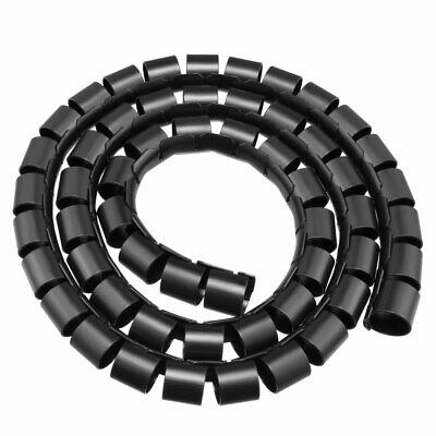 20mm Flexible Spirale Kabelschlauch Umhüllung Computer Organizer Draht 1M
